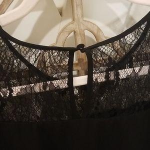 Brixon Ivy Tops - Black lace blouse